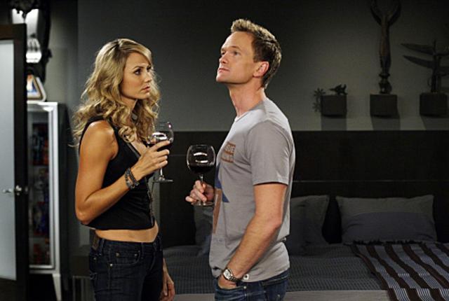 Barney and karina