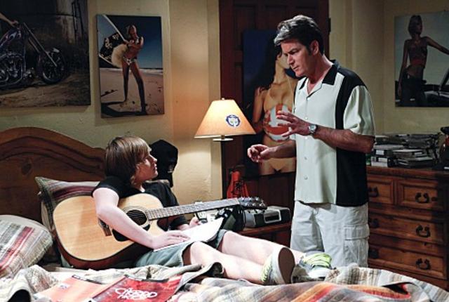 Charlie talks to jake
