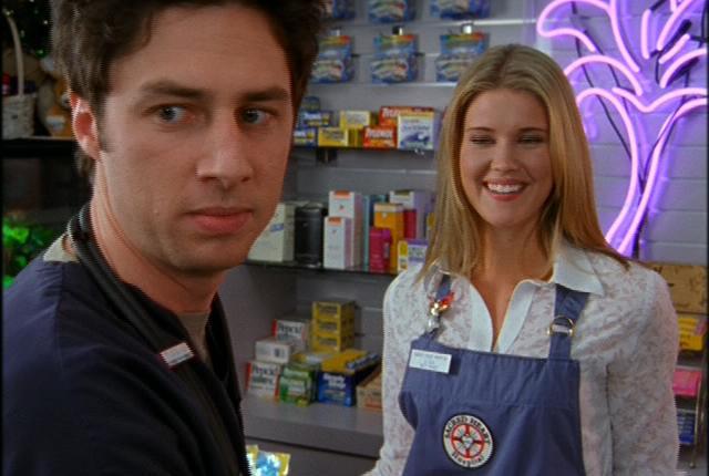 Sarah lancaster on scrubs