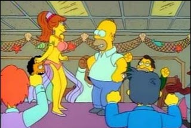 Homer-and-the-belly-dancer