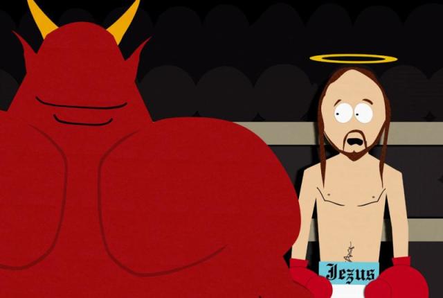 Jesus-vs-satan