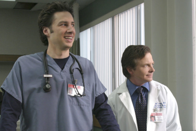 Michael j fox on scrubs