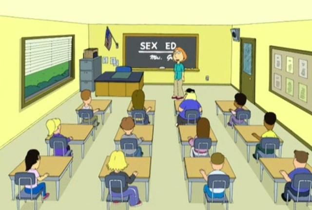 Lois teaches sex ed