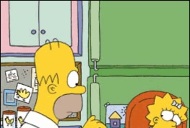 Homer alone picture