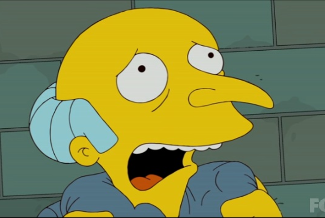Mr burns in prison
