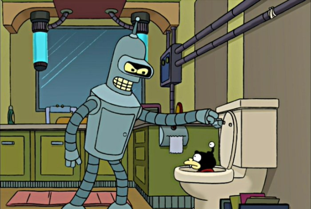 Bender-flushes-nibbler