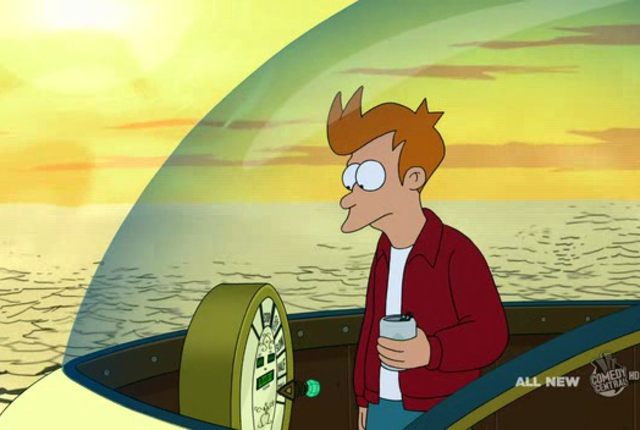 Fry time travels