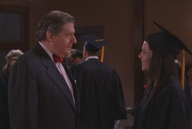 Lorelais graduation day picture