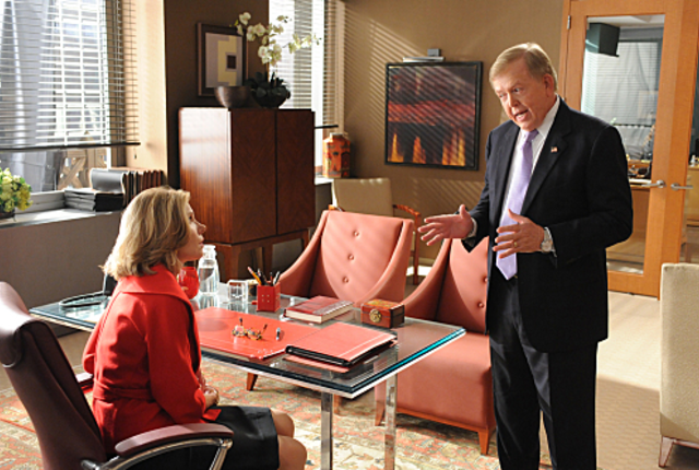 Lou dobbs on the good wife