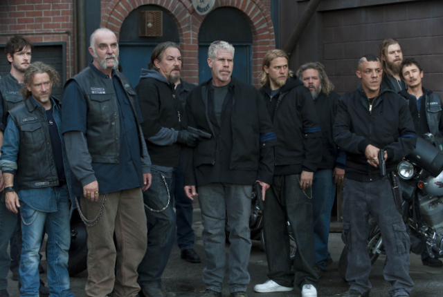 Sons of anarchy showdown