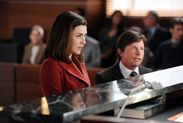 Michael j fox on the good wife