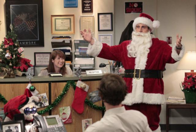 An office christmas