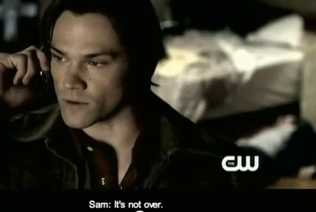 Dean on the phone