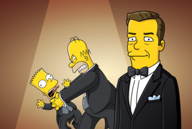 Ricky-gervais-on-the-simpsons