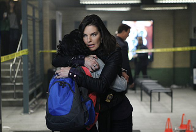 Motherly hug