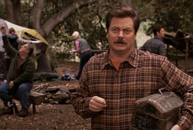 Ron camping