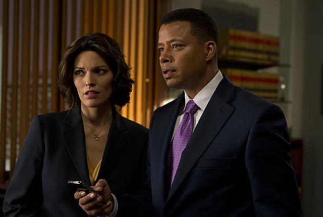 La law and order scene