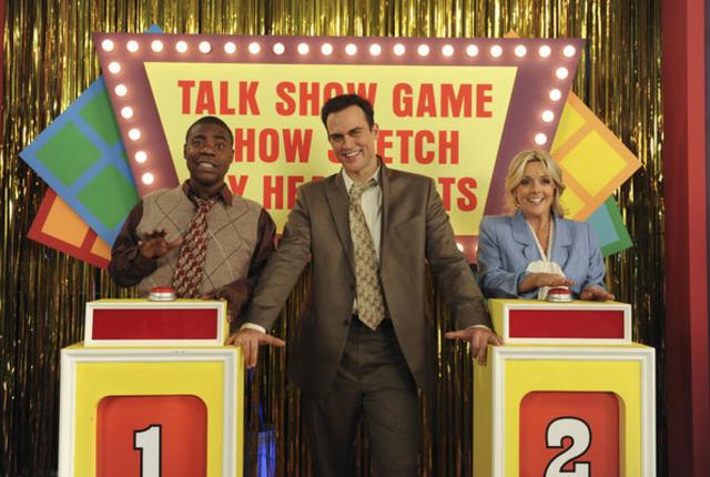 Talk show game show sketch