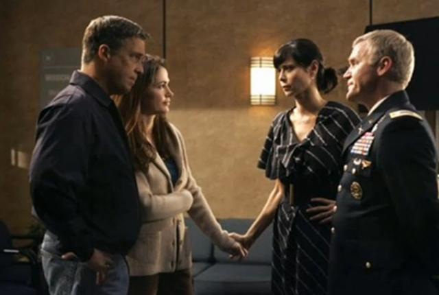 Army wives season finale scene