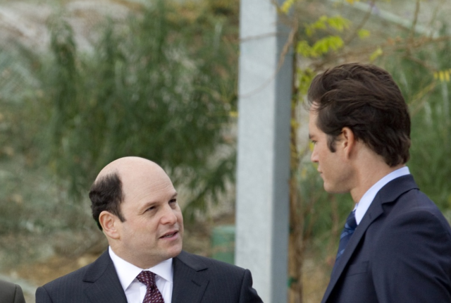 Jason alexander on franklin and bash