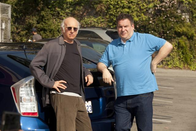 Larry david and jeff garlin