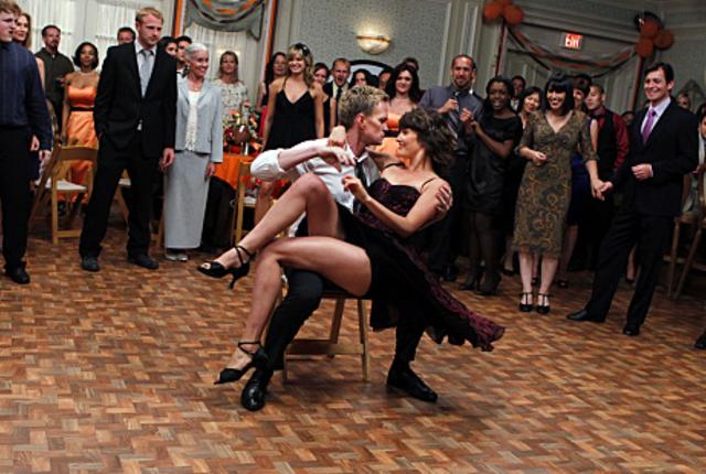 Barney at a wedding
