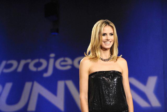 Heidi klum on project runway