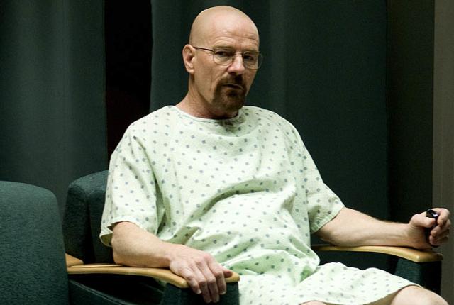 Walt in a gown