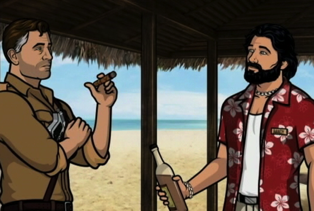 Archer-on-vacation