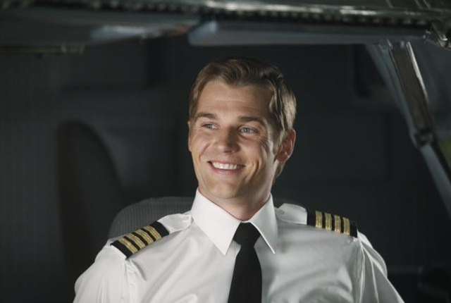 Smile of a pilot