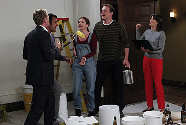 Himym fight