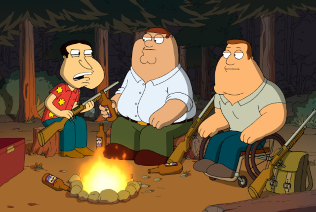 Quagmire peter and joe