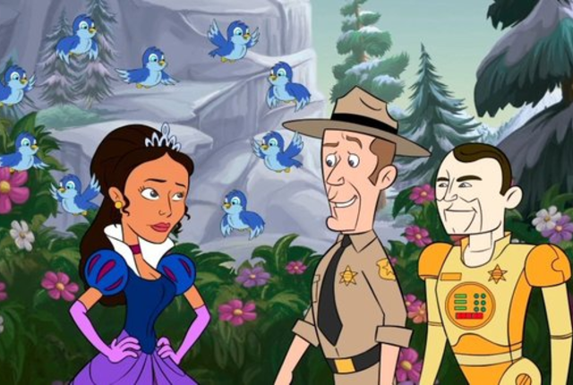 Animated on eureka