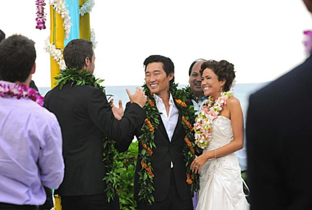 A hawaiian wedding