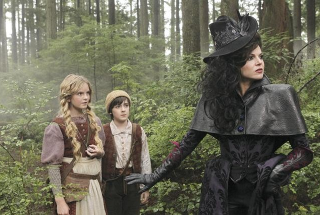 Hansel and gretel on once upon a time