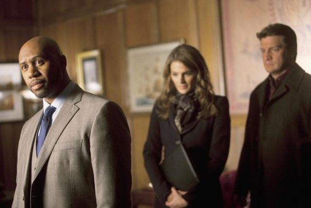 Castle beckett and the mayor