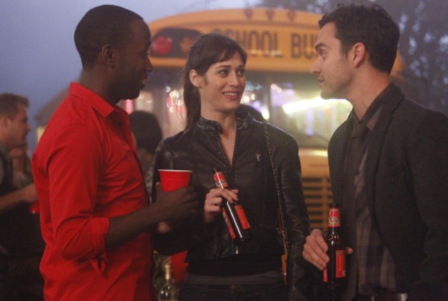 Lizzy caplan on new girl