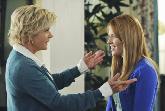 Meredith baxter on switched at birth