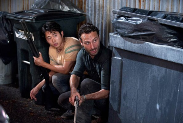 Glenn and rick trapped