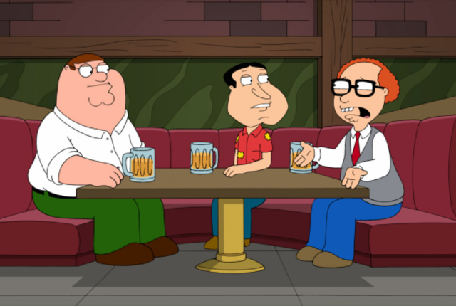 Peter quagmire and mort
