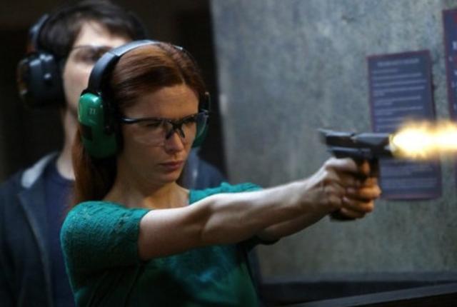 Juliette takes aim