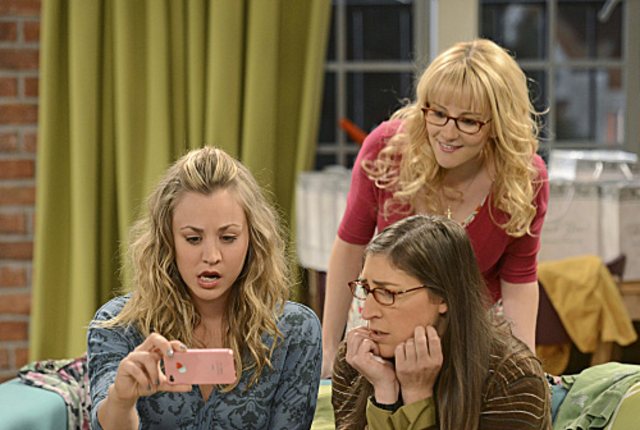 Penny-amy-and-bernadette-read-unsettling-news