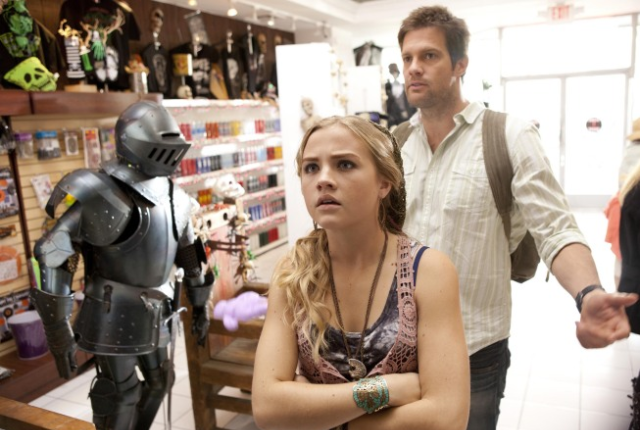 Willa and walter at a witchcraft store