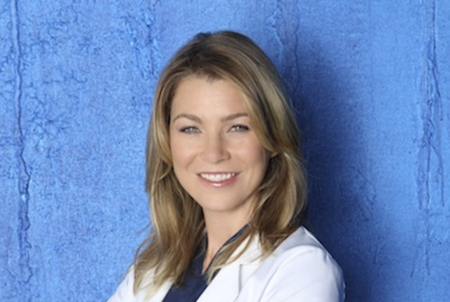 Ellen pompeo as dr meredith grey