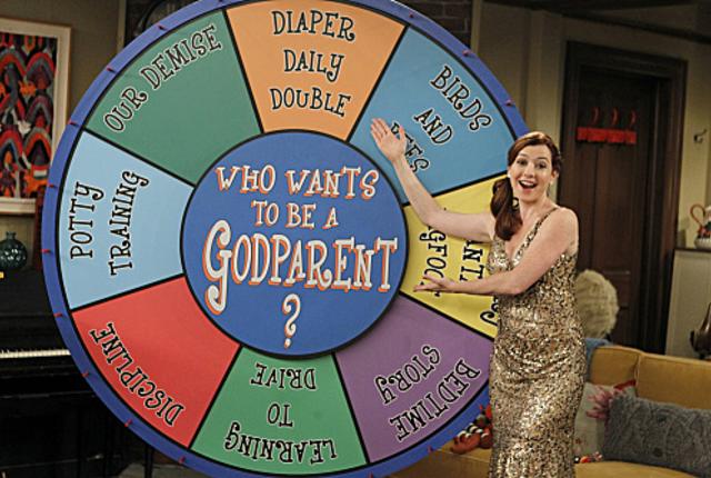 The godparent wheel