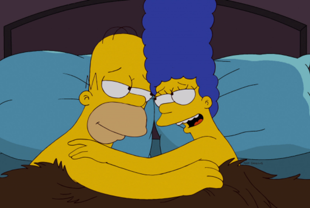 Marge wants a baby