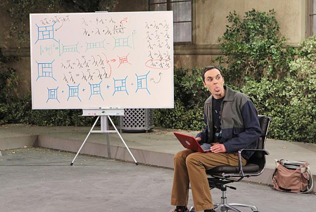 Sheldons parking space