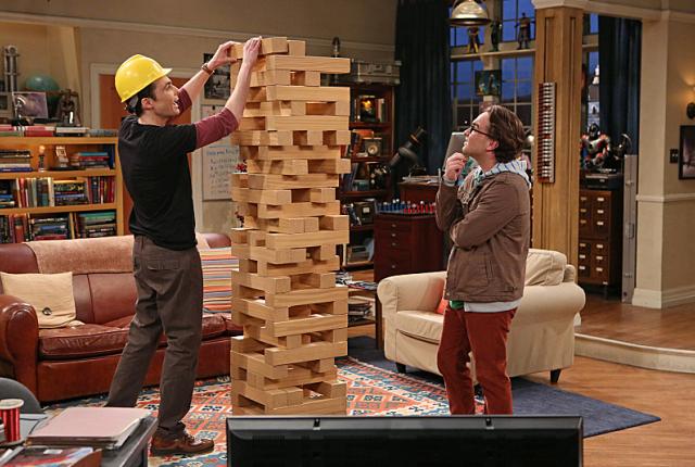 Sheldons jenga