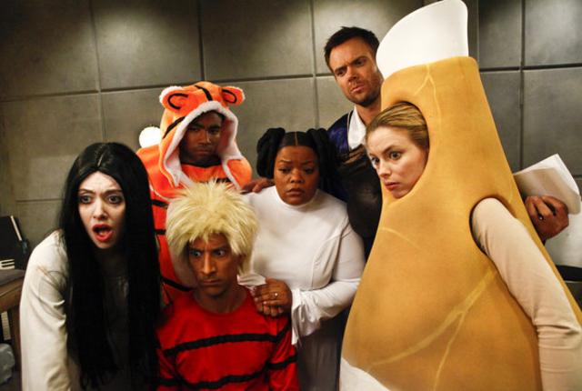 The gangs halloween surprise