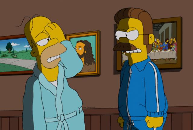 Homers black eye
